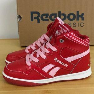Reebok Shoes   Girls Heart Collar Red